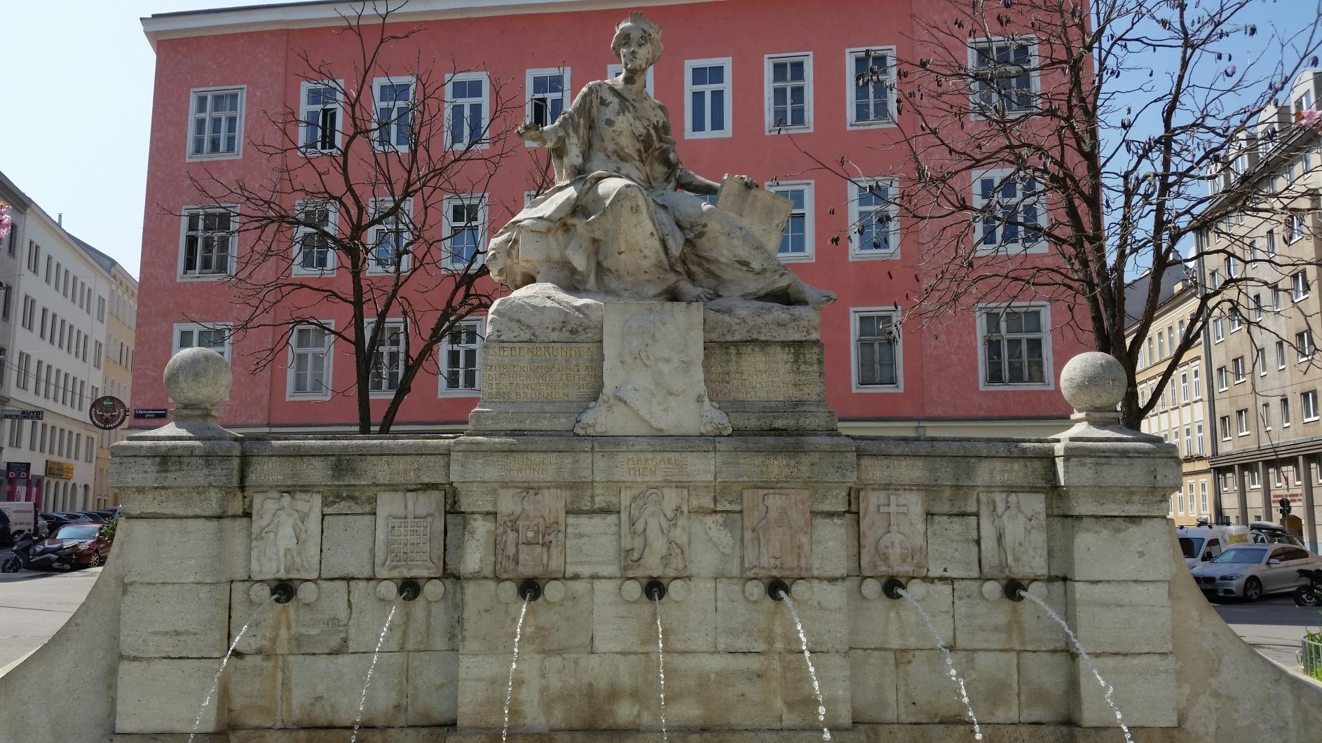 Der Siebenbrunnen, Margareten